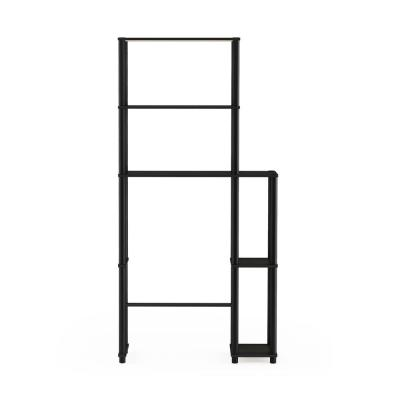 Turn-N-Tube Espresso/ Black Toilet Space Saver with 5-Shelves