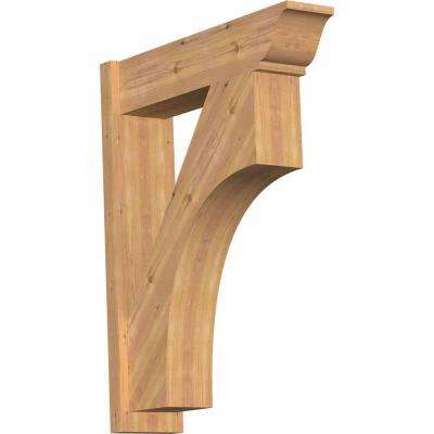 8 in. x 38 in. x 30 in. Westlake Traditional Smooth Western Red Cedar Outlooker