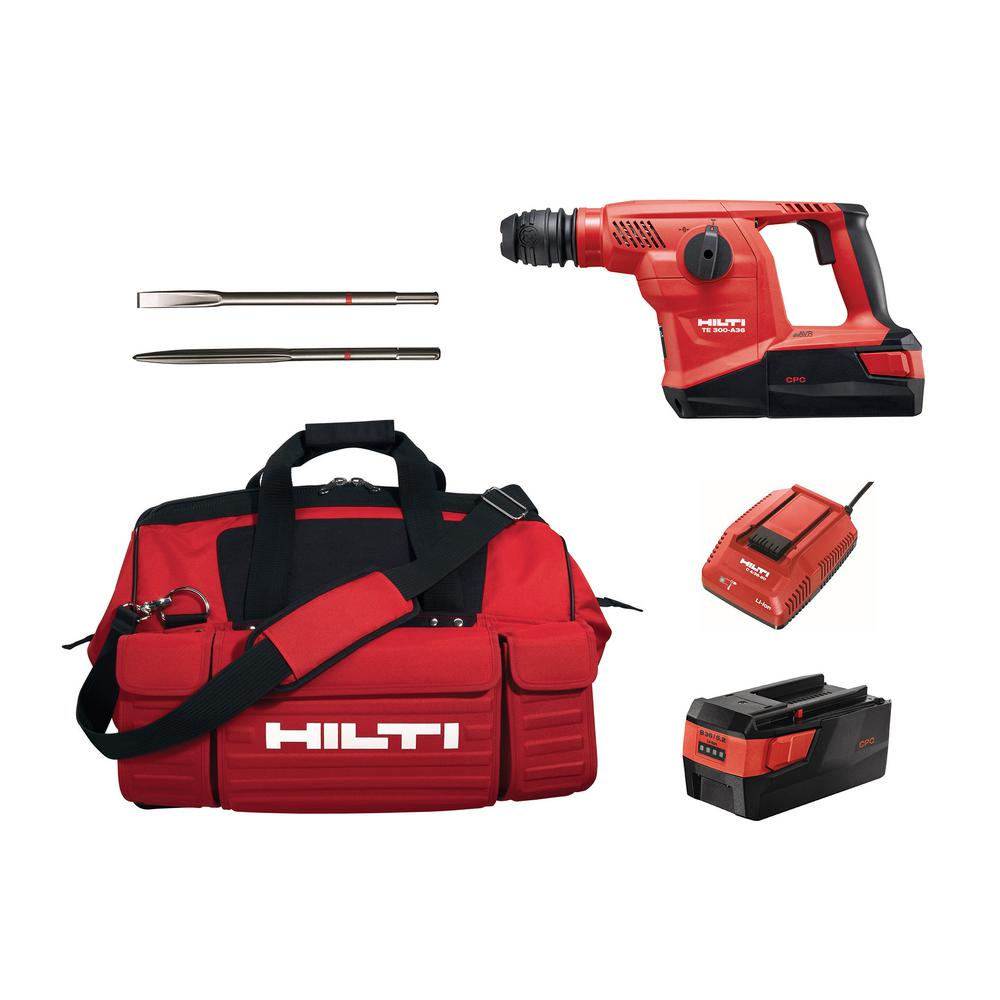 Hilti 36 Volt Sds Plus Te 300 A36 Lithium Ion Cordless
