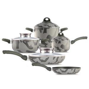 Army 9-Piece Assorted Cookware Set