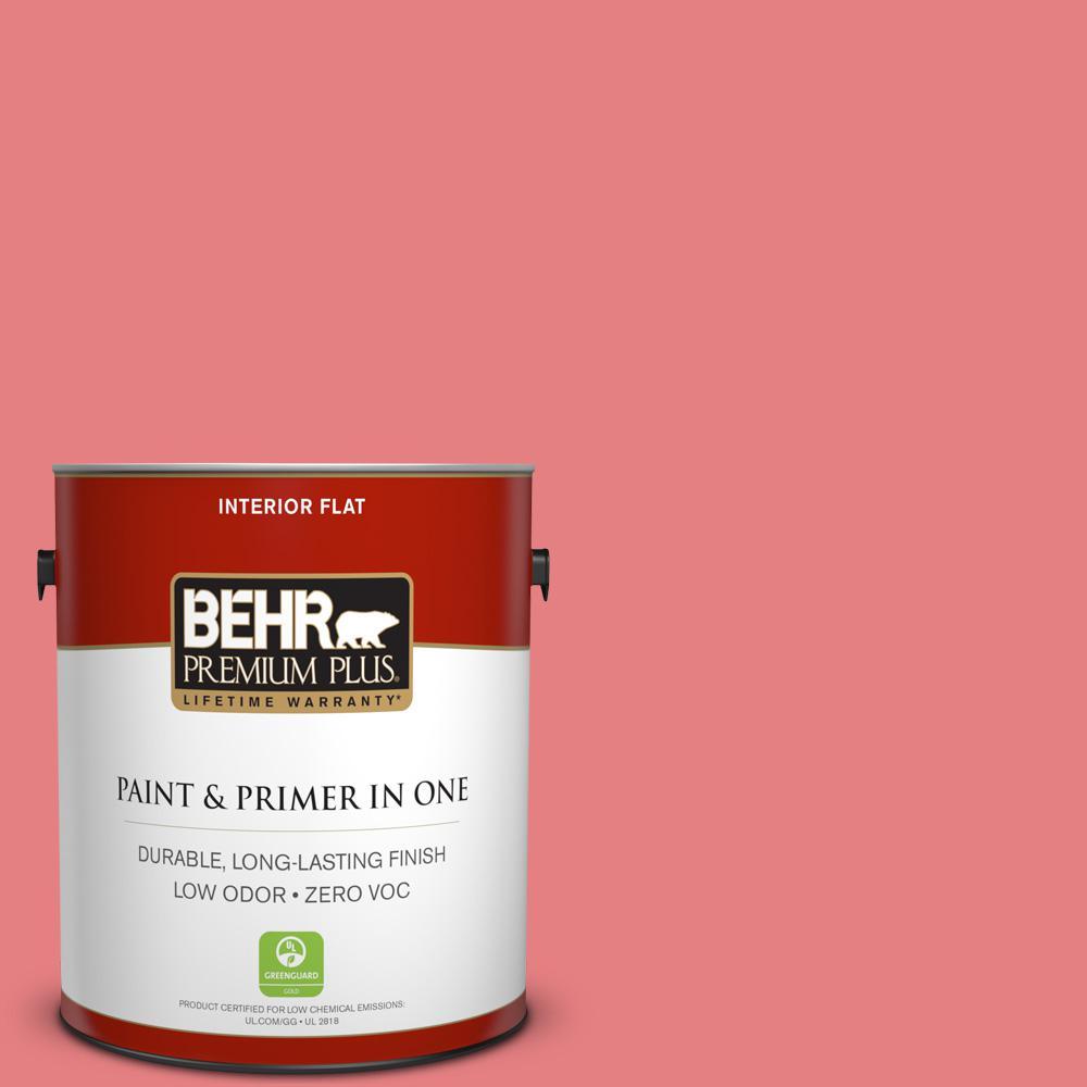 BEHR Premium Plus 1-gal. #P170-4 Sugar Poppy Flat Interior Paint