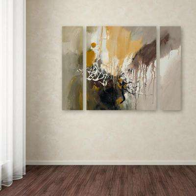 """24 in. x 32 in. """"Abstract I"""" by Rio Printed Canvas Wall Art"""