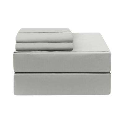 Cal. King 4-Piece Platinum 400-Thread Count Cotton Rich Sheet Set