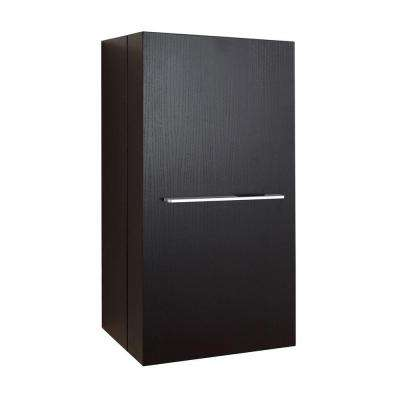 Carvell 15-4/6 in. W x 31-1/2 in. H x 11-6/8 in. D Bathroom Storage Wall Cabinet in Espresso