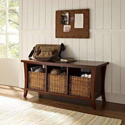 Wallis Mahogany Storage Bench