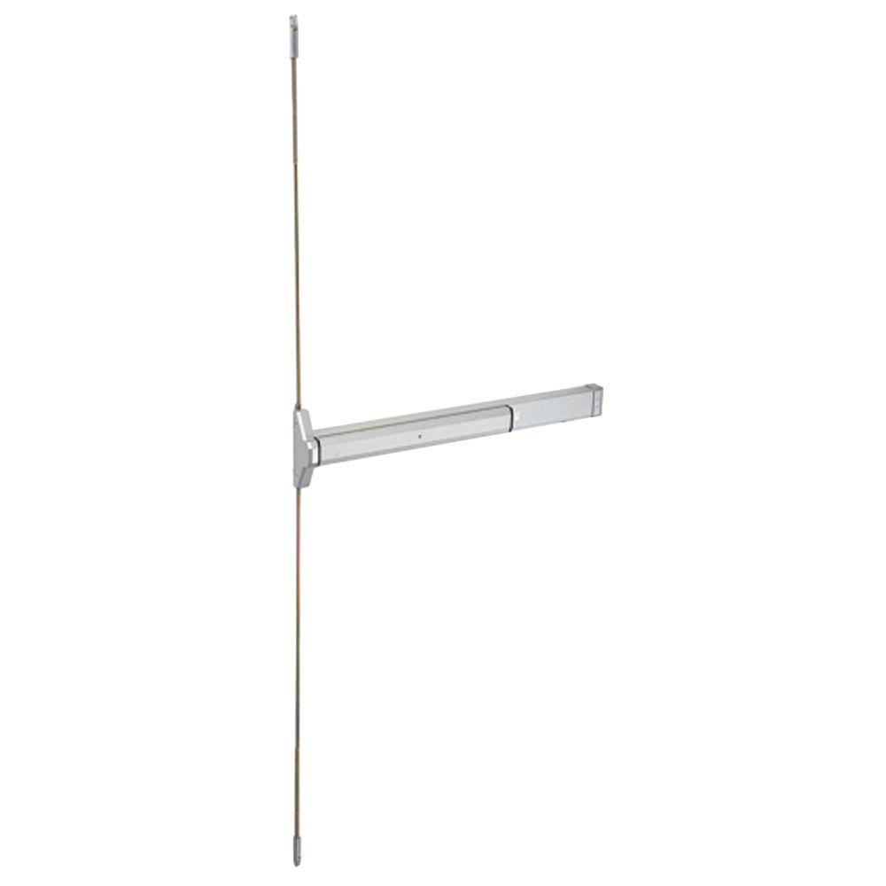 48 in. Aluminum Narrow Stile Concealed Vertical Rod Exit Device