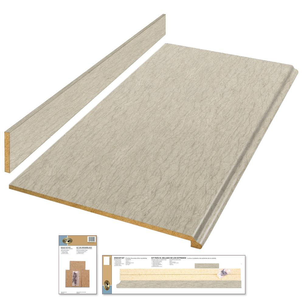 6 ft. Laminate Countertop Kit in Sierra Cascade with Standard Fine