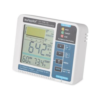 APCEM2 Hydroponic Gardening CO2 RH Temperature Monitor and Data Logger