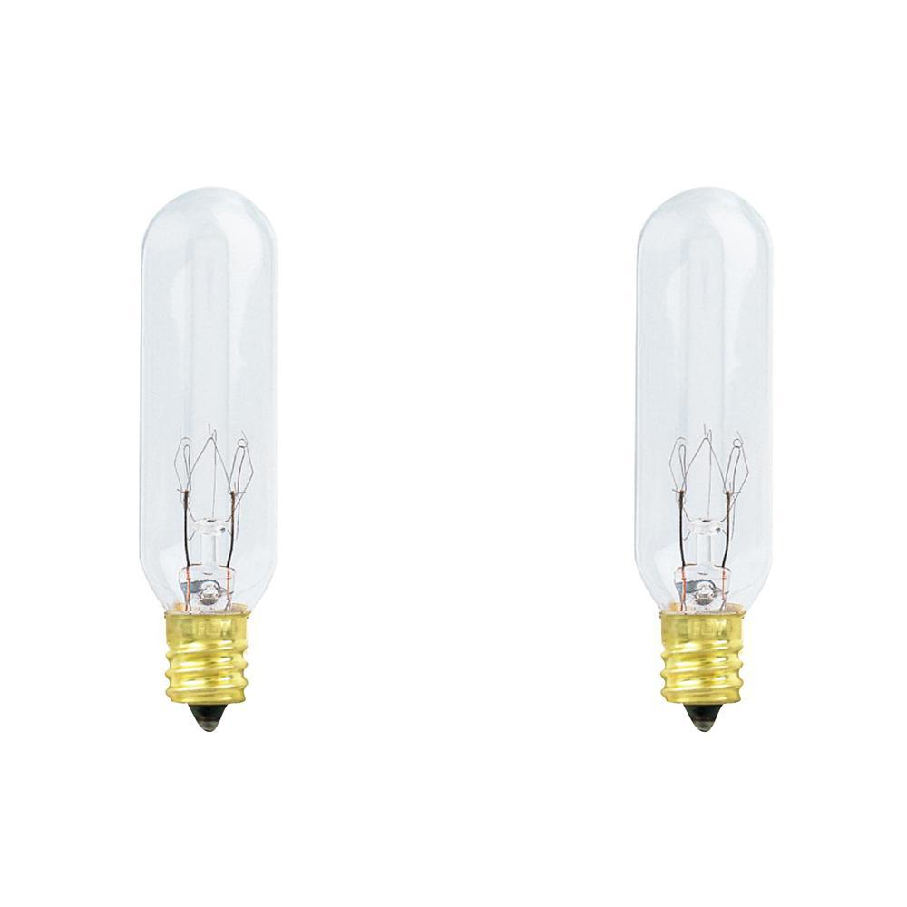 [SCHEMATICS_48IU]  Feit Electric 15-Watt Soft White (2700K) T6 Dimmable Candelabra E12 Base  Incandescent Light Bulb (2-Pack)-BP15T6/2-130/HDRP - The Home Depot   T6 Light 6 Watts Wiring Diagram      Home Depot