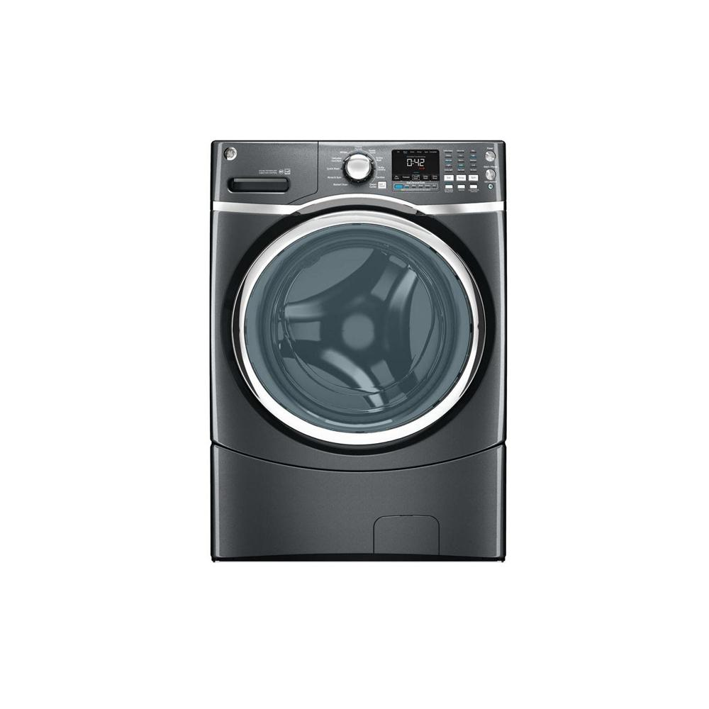 GE 4.3 DOE cu. ft. High-Efficiency Front Load Washer in Diamond Gray, ENERGY STAR