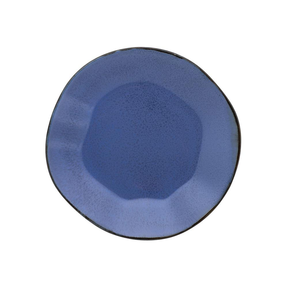 Manhattan Comfort 8.46 in. RYO Blue Salad Plates (Set of 12) was $149.99 now $90.31 (40.0% off)