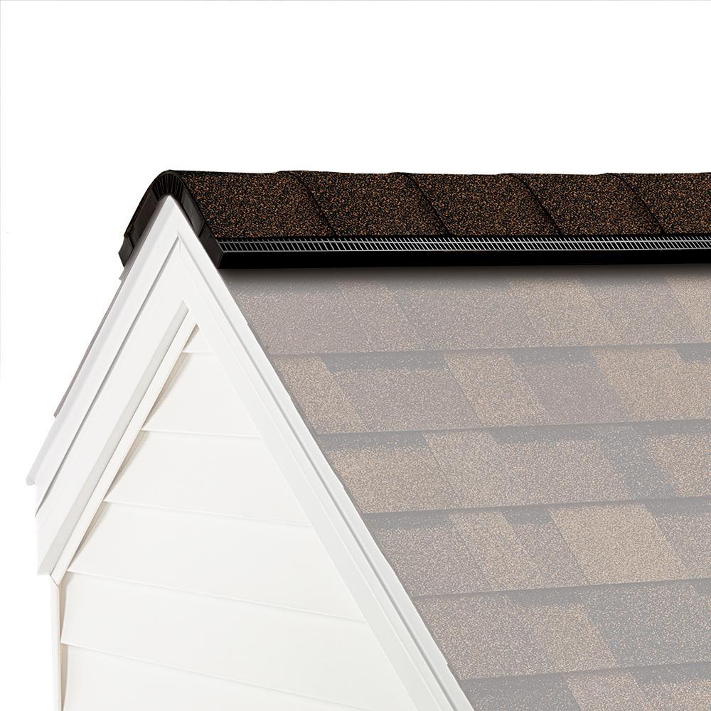 Owens Corning ProEdge Algae Resistant Brownwood Hip and Ridge Asphalt Roofing Shingles (33 linear ft. per Bundle)