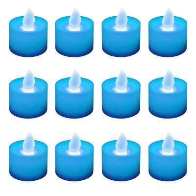 Blue LED Tealights (Box of 12)