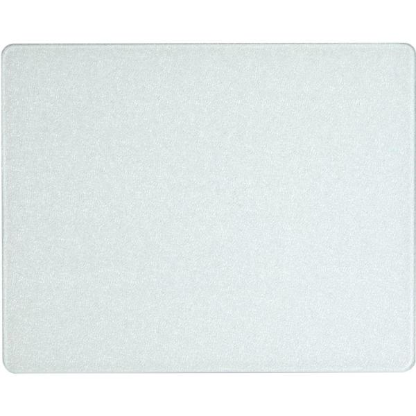 15 in. x 12 in. White Surface Saver Tempered Glass Cutting Board