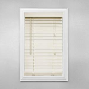 Home Decorators Collection Alabaster 2 In Faux Wood Blind 33 In W X 48 In L Actual Size 32