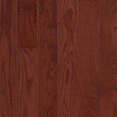 Raymore Oak Cherry Hardwood Flooring - 5 in. x 7 in. Take Home Sample