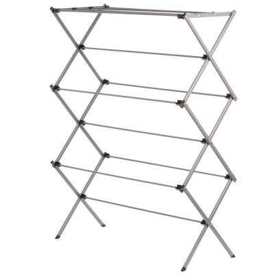 14.5 in. W x 45.5 in.H x 35.5 in. L Oversize Folding Drying Rack