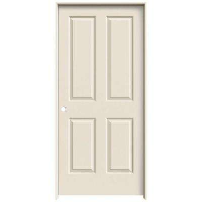 36 in. x 80 in. Coventry Primed Right-Hand Smooth Molded Composite MDF Single Prehung Interior Door