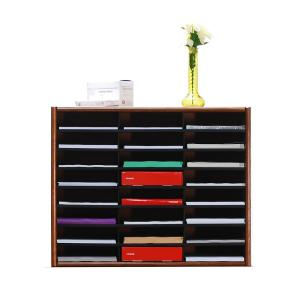 Concepts In Wood Espresso Literature Organizer by Concepts In Wood