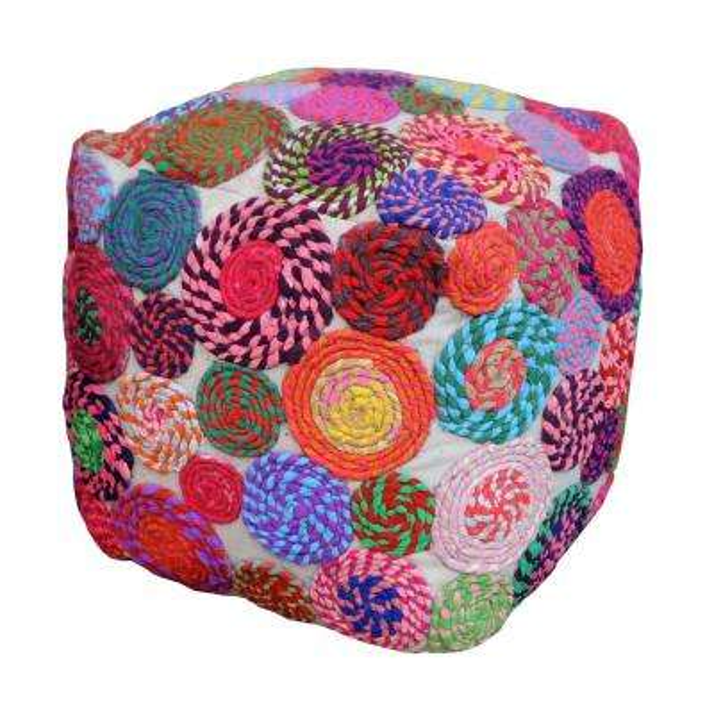 Swiffer Multi-Color Cotton Pouf