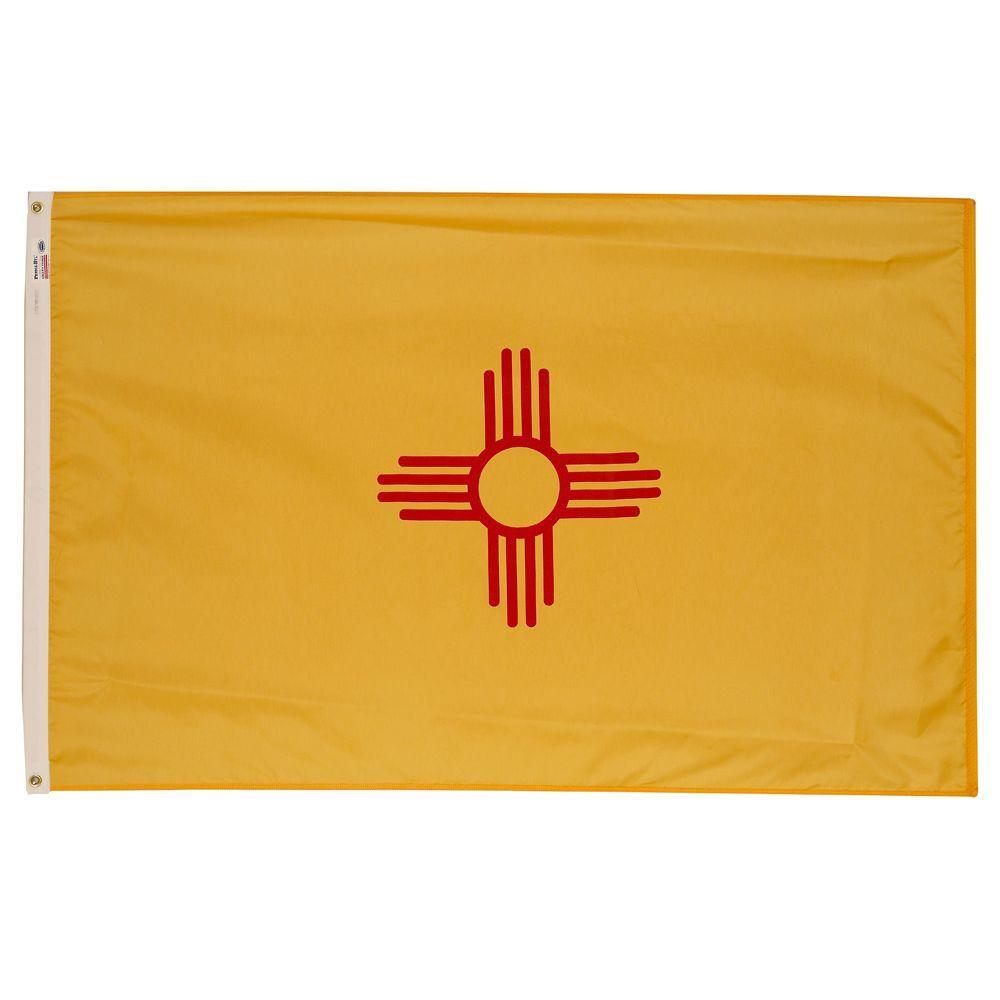 3 ft. x 5 ft. Nylon New Mexico State Flag
