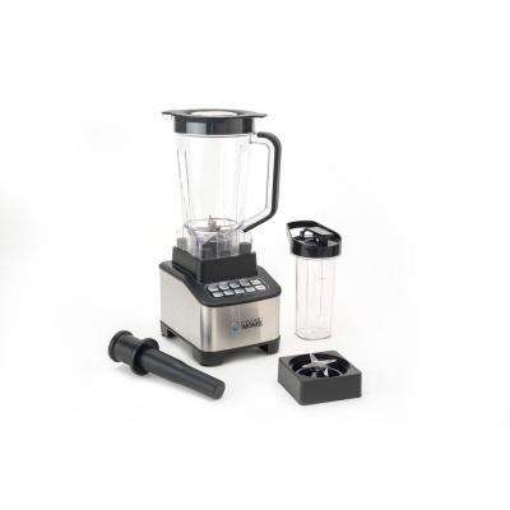 4-Speed 1200-Watt Black and Silver Emulsifier Immersion Blender