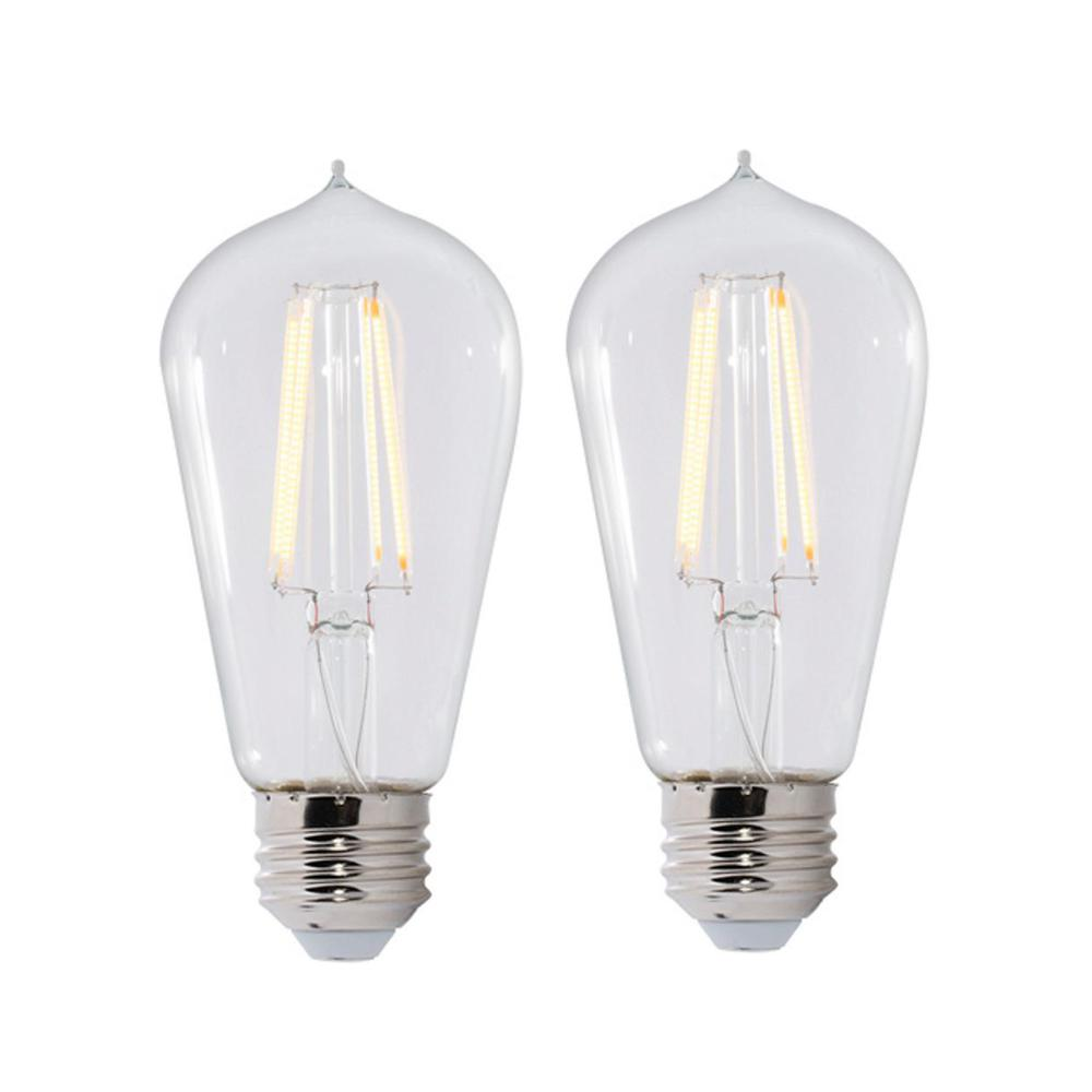 Warm White Light St18 Dimmable Led