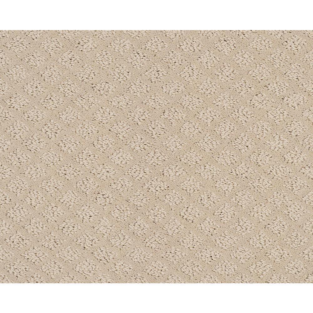 Carpet Sample - Aura - Color Divine Pattern 8 in. x 8 in.