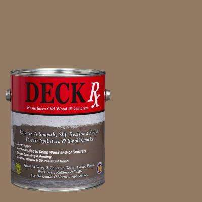 Deck Rx 1 gal. Taupe Wood and Concrete Exterior Resurfacer