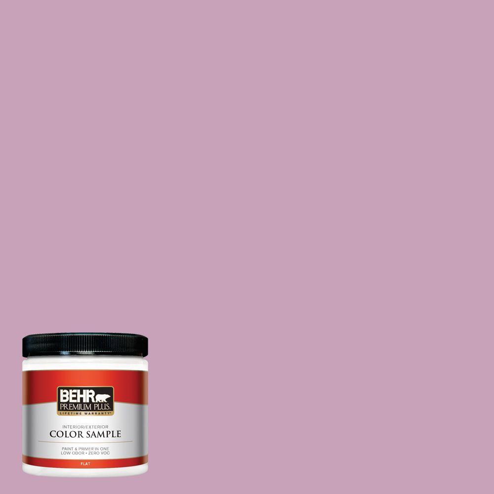 BEHR Premium Plus 8 oz. #690D-4 Taste Of Berry Interior/Exterior Paint Sample
