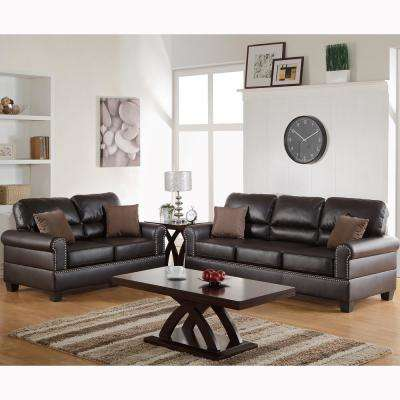 Sibillini 2-Piece Sand Sofa Set