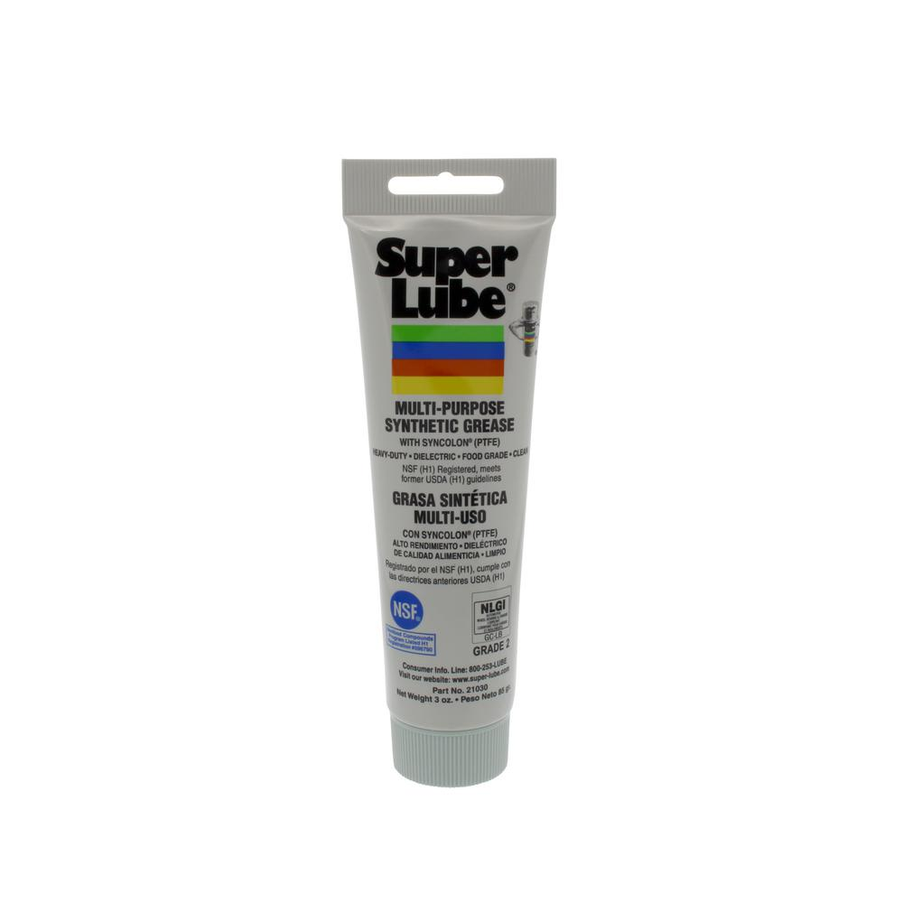 Super Lube 3 oz. Tube Synthetic Grease with Syncolon PTFE