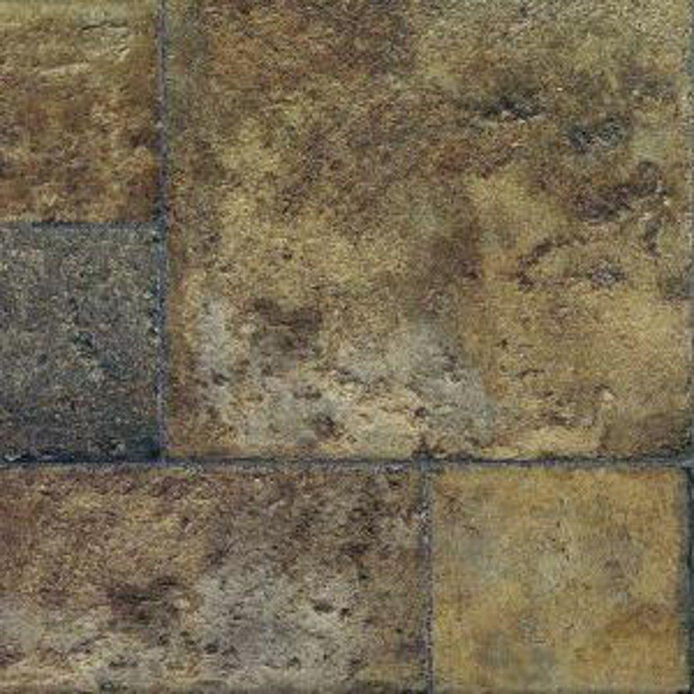 Faus Tuscan Stone Terra Laminate Flooring - 5 in. x 7 in. Take Home Sample