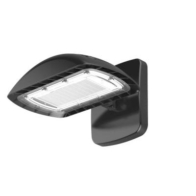 600-Watt Equivalent Integrated Outdoor LED Flood Light with Wall Pack Kit, 8700 Lumens, Dusk to Dawn Outdoor Light