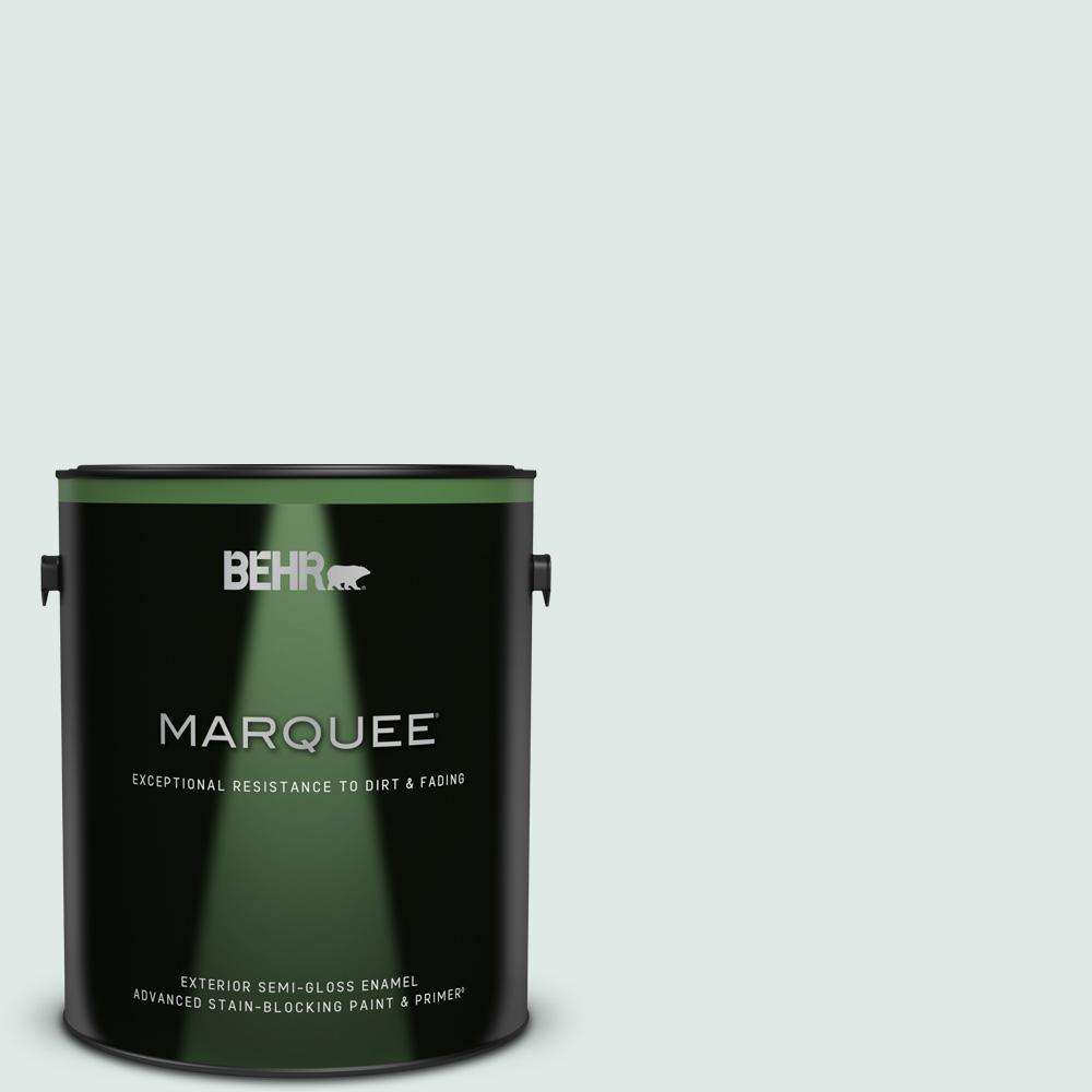 Behr Marquee 1 Gal Ppu13 17 Fresh Day Semi Gloss Enamel Exterior Paint Primer 545001 The Home Depot