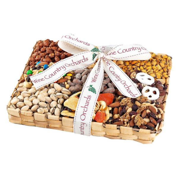 Wine Country Gift Baskets Deluxe Mixed Nut Gift Collection