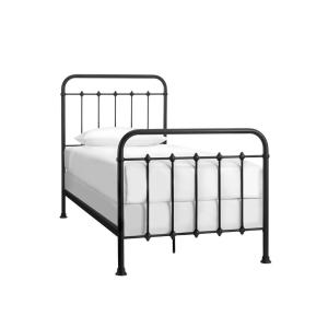 Dorley Farmhouse Black Metal Twin Xl Bed 42 91 In W X 53 54 H