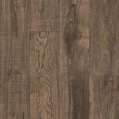 American Home Burnished Hickory 6.5 in. x 48 in. Glue Down Luxury Vinyl Plank (34.66 sq. ft. / case)