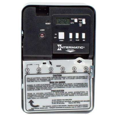 30-Amp 120-Volt SPST Electronic Water Heater Time Switch
