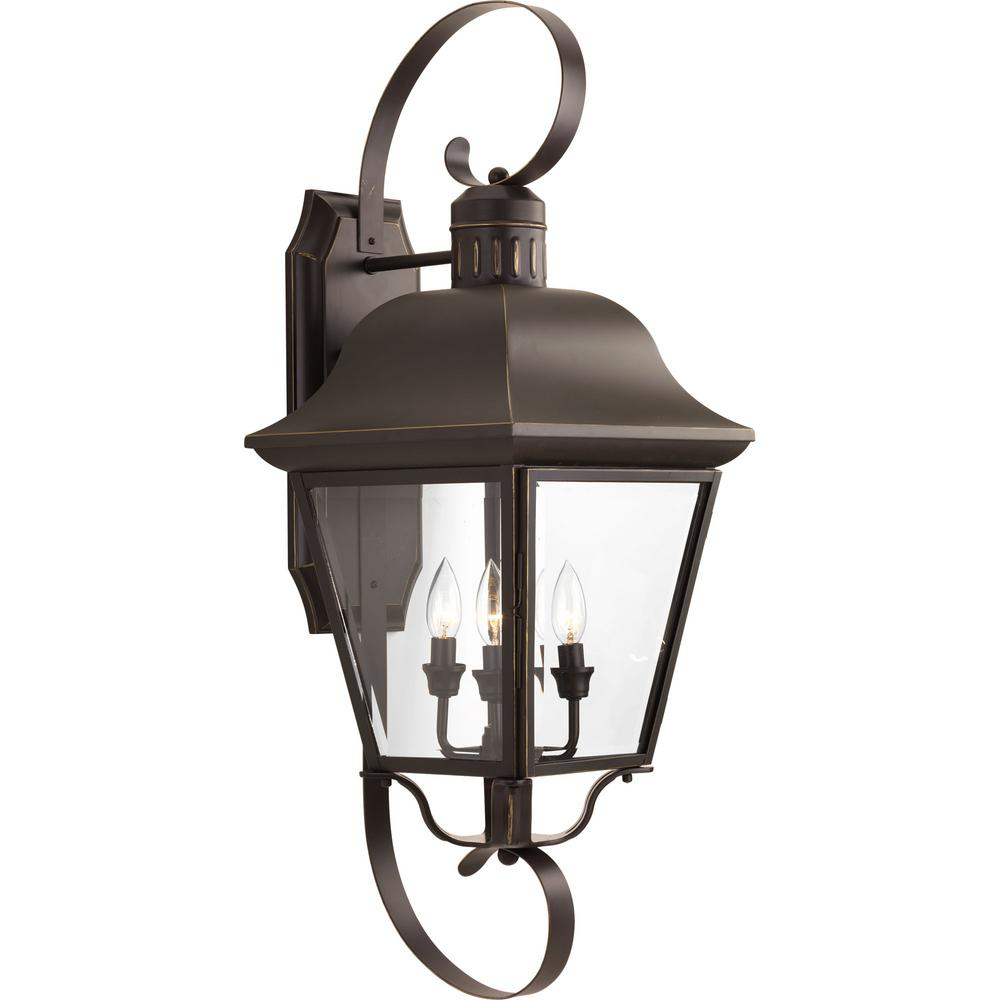 Progress Lighting Andover 4 Light 34 5 In Outdoor Antique