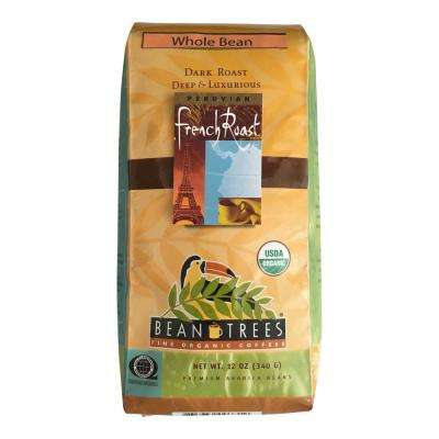 12 oz. French Roast Coffee Whole Beans (3-Bags)