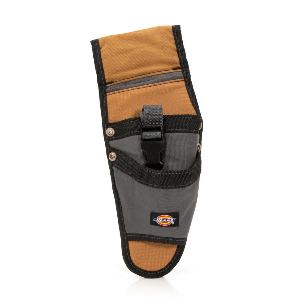 3-Pocket Drill Holster / Tool Belt Pouch, Tan