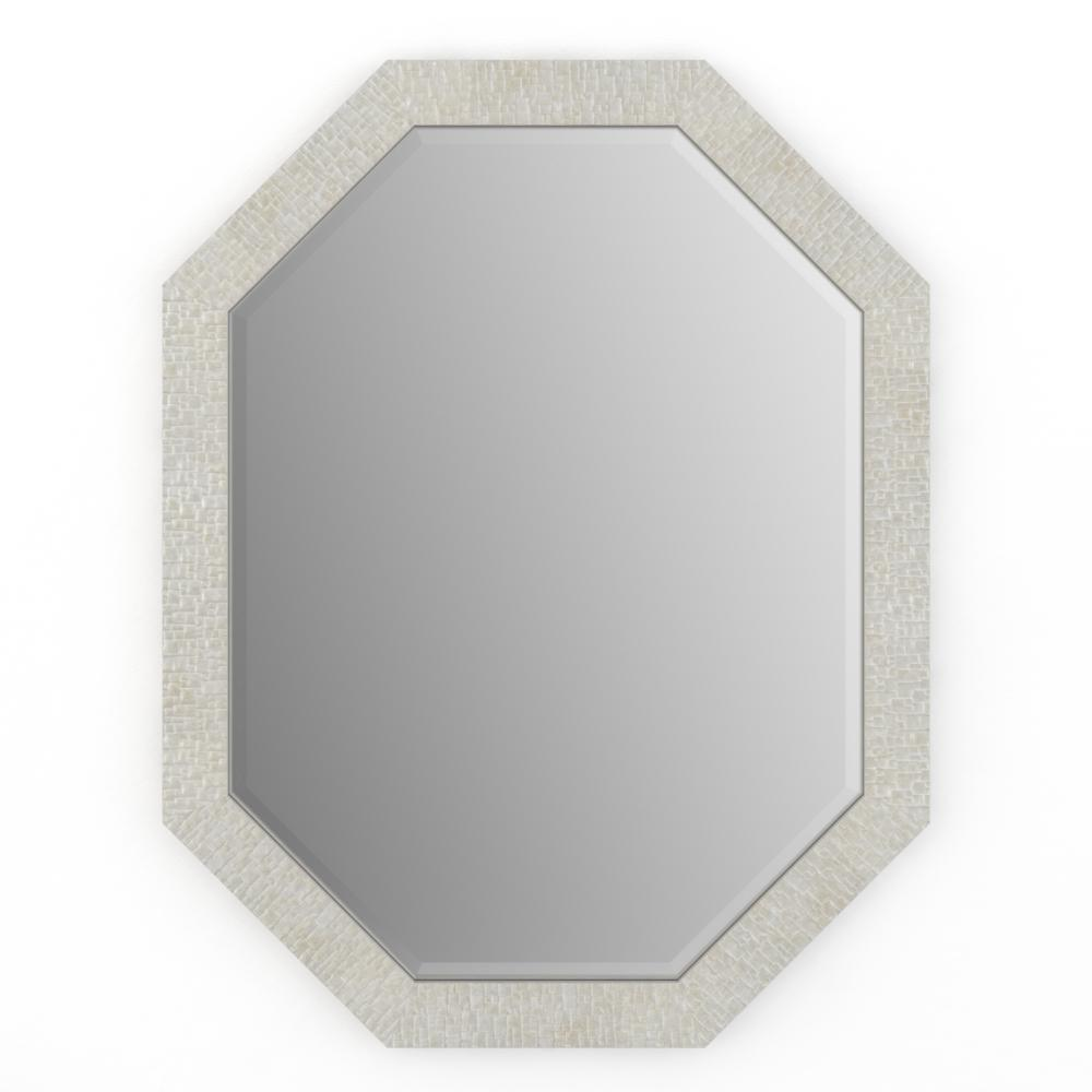Delta 26 In X 34 In M2 Octagonal Framed Mirror With Deluxe Glass