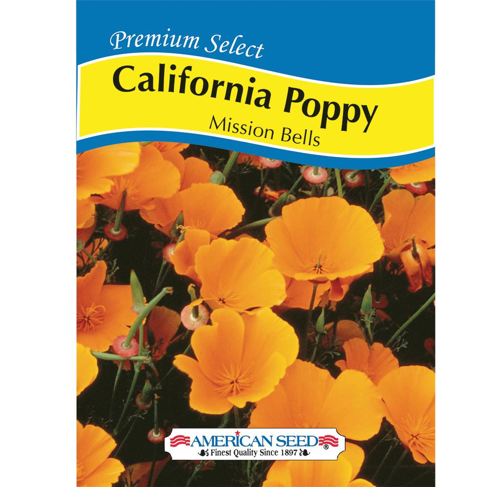 California Poppy Mission Bells AM Seed