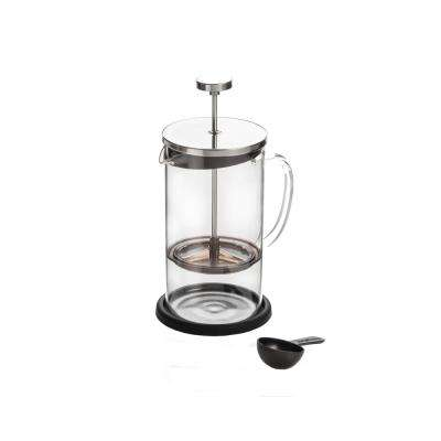 8-Cups Coffee Plunger with Coaster and Measuring Spoon