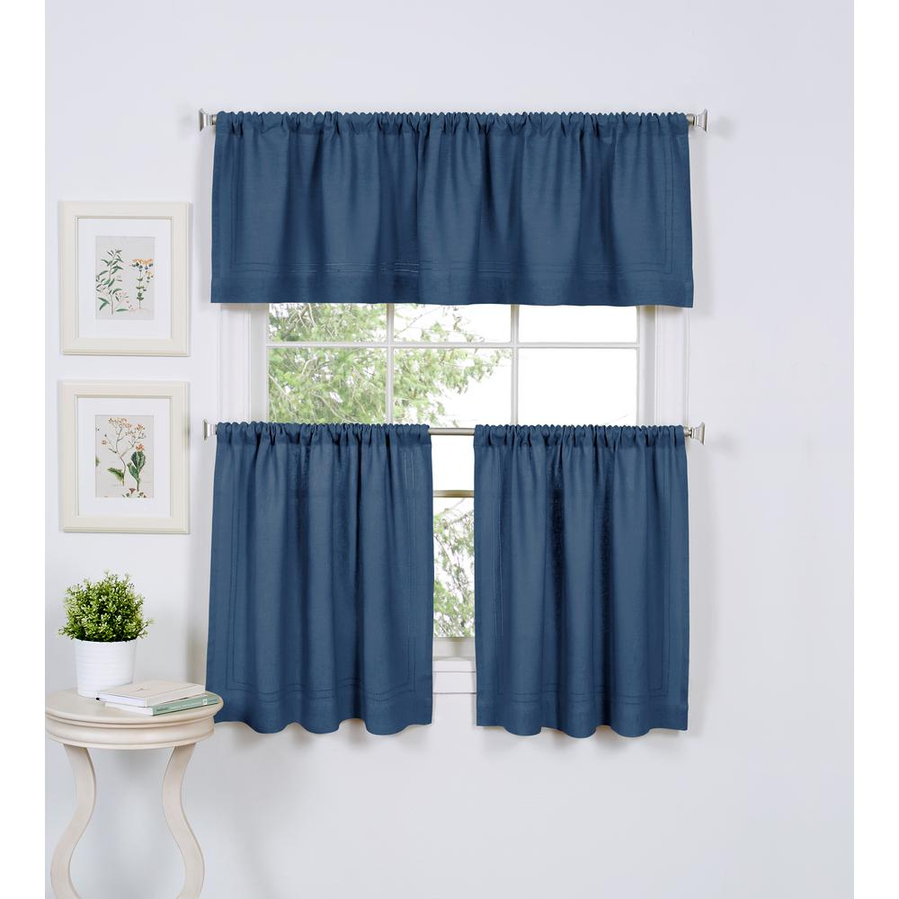White - Semi-Opaque - Rod Pocket - Curtains & Drapes - Window ...