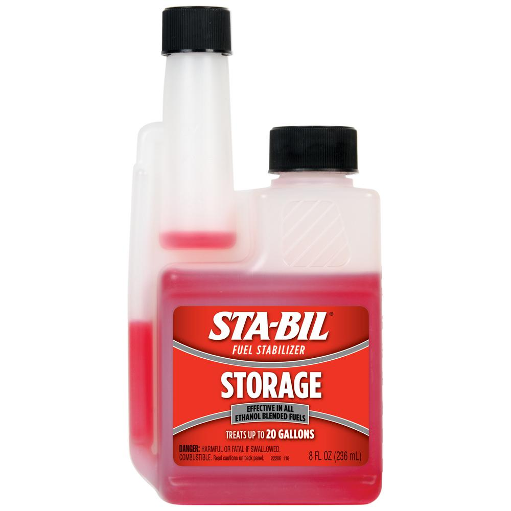 Sta-Bil Storage Fuel Stabilizer 8 oz. Treats 20 Gallons of Fuel