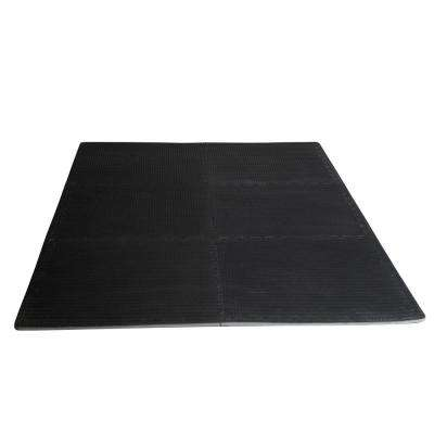 24 in. x 24 in. Heavy-Duty Interlocking EVA Mat with Tire Thread Surface (6-Piece)