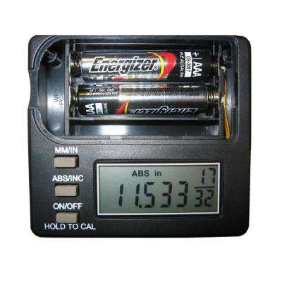 2.3 in. Remote Display Router Lift Digital Readout Gauge