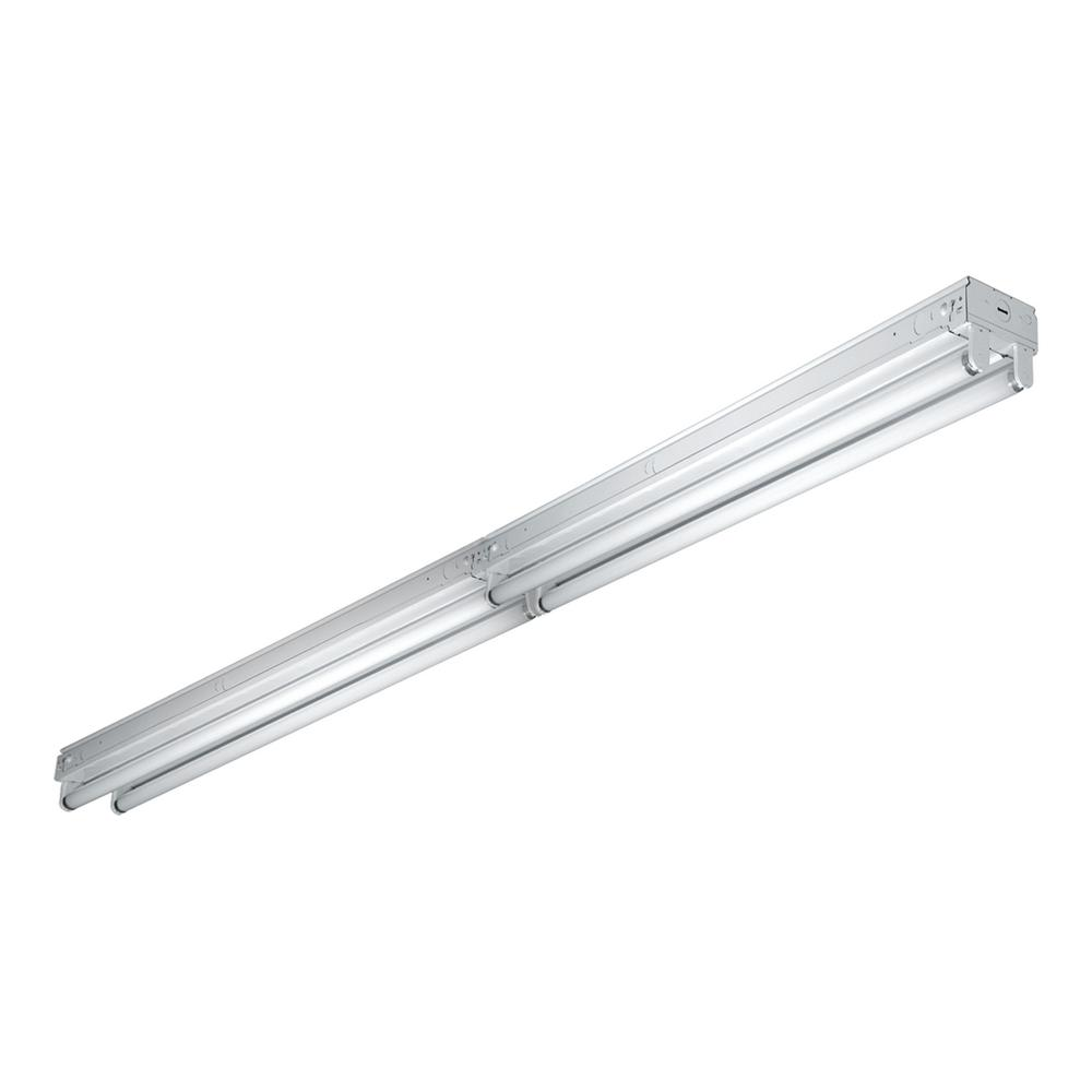 8 Ft Fluorescent Light Fixture Home Depot